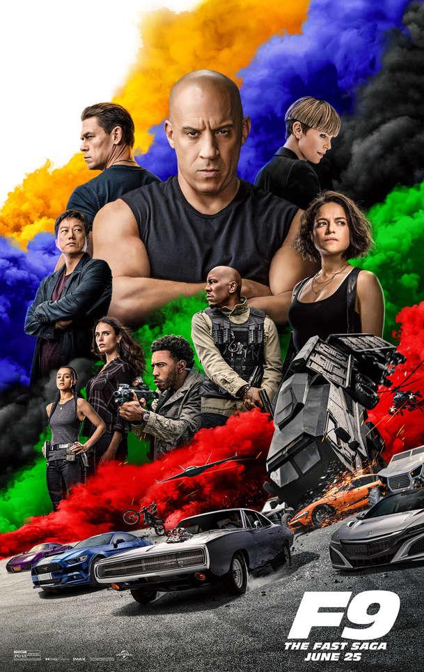 Rychle a zběsile 9: V novém traileru Dieselovi borci skutečně míří do stratosféry   Fandíme filmu