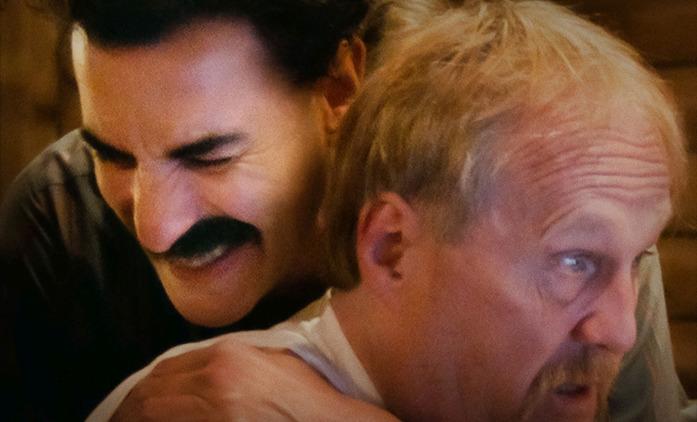Borat Supplemental Reportings: Trailer na nové Boratovy šaškárny   Fandíme seriálům