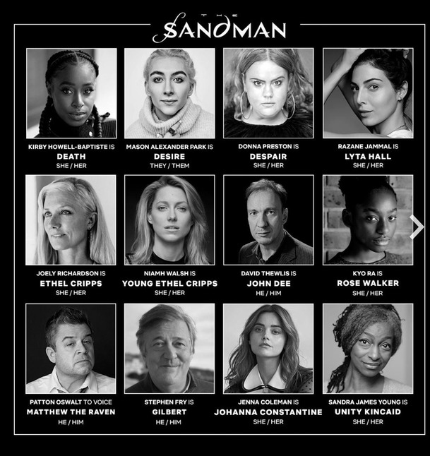 Sandman: První zákulisní upoutávka a rozrůstání obsazení | Fandíme serialům