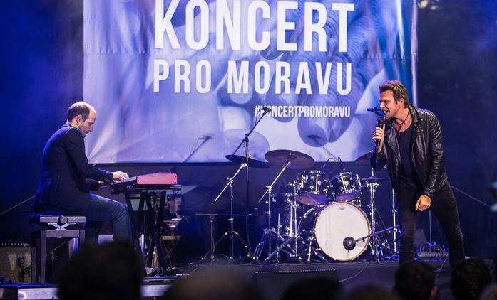 ČT: Koncert pro Moravu byl výjimečný, lidé darovali rekordní obnos | Fandíme seriálům