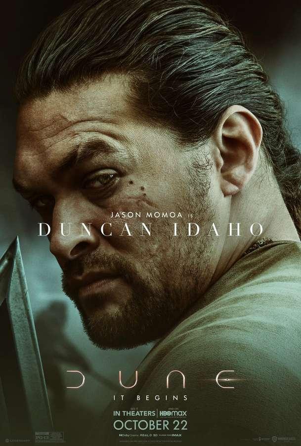 Duna: Série plakátů nás blíže seznamuje se skvěle obsazenými postavami   Fandíme filmu