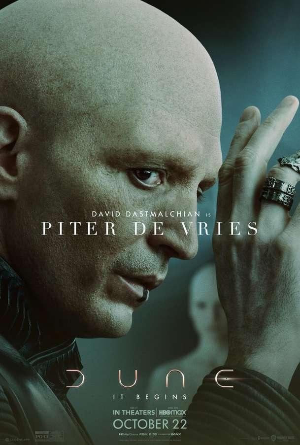 Duna: Série plakátů nás blíže seznamuje se skvěle obsazenými postavami | Fandíme filmu