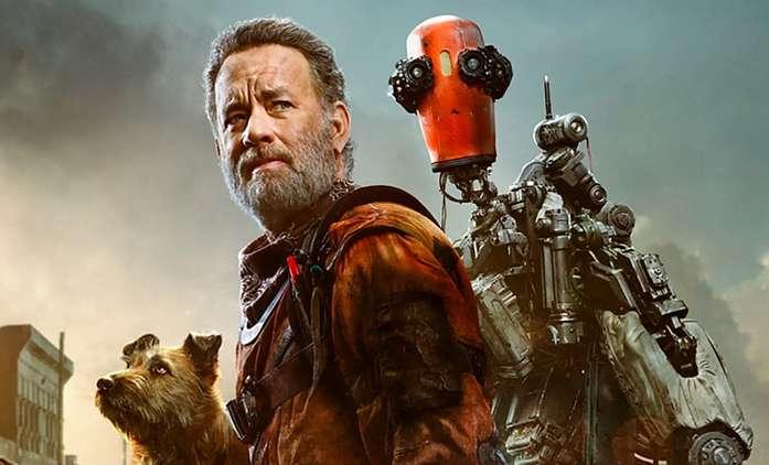 Finch: Tom Hanks v postapokalyptické pustině postavil robota a chová psa - trailer   Fandíme filmu