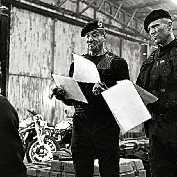 Expendables 4: Dolph Lundgren na první fotce | Fandíme filmu