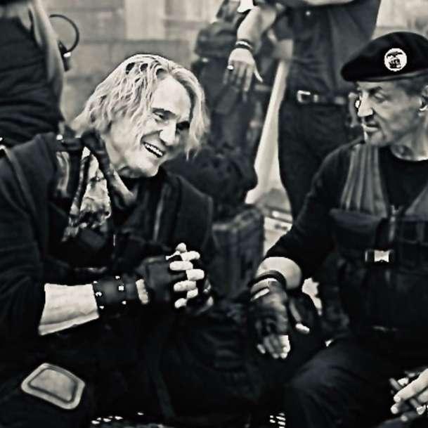 Expendables 4: Dolph Lundgren na první fotce   Fandíme filmu