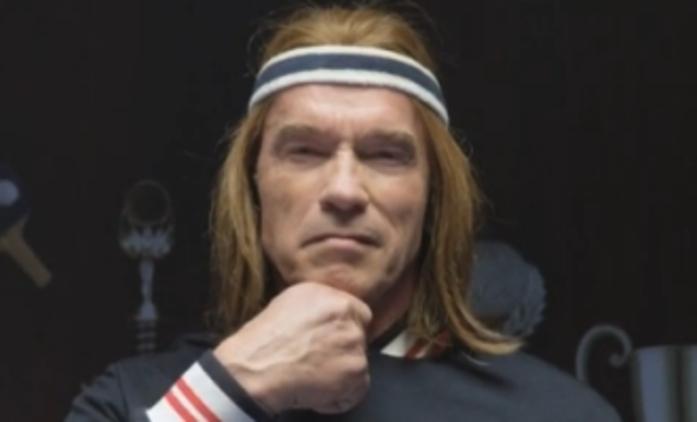 Arnold Schwarzenegger se dal na pivo a ping-pong   Fandíme filmu