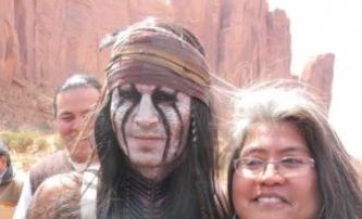 Lone Ranger: Fotky Johnnyho Deppa a Armieho Hammera | Fandíme filmu