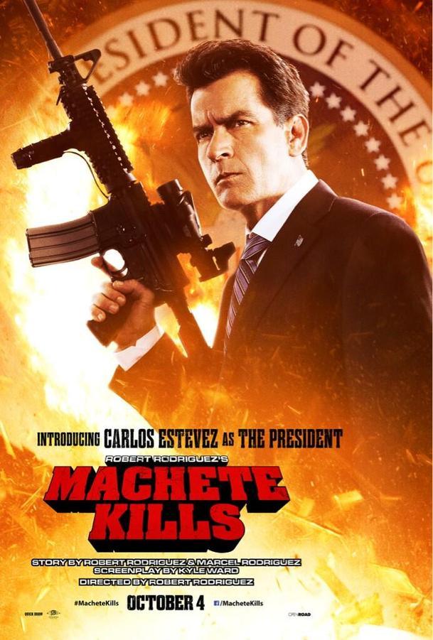 Machete zabíjí: Prezident Sheen na plakátě | Fandíme filmu