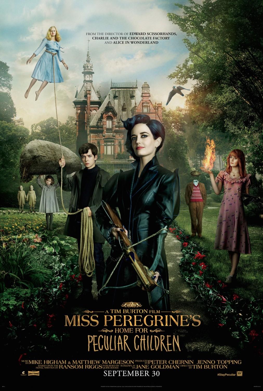 Sirotčinec slečny Peregrinové pro podivné děti | Fandíme filmu