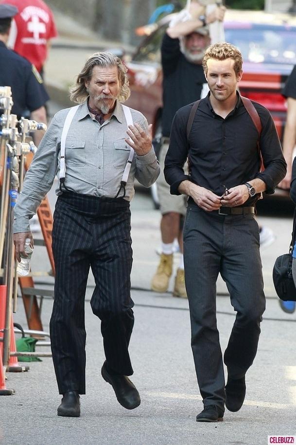 R.I.P.D.: Jeff Bridges na fotkách z placu | Fandíme filmu
