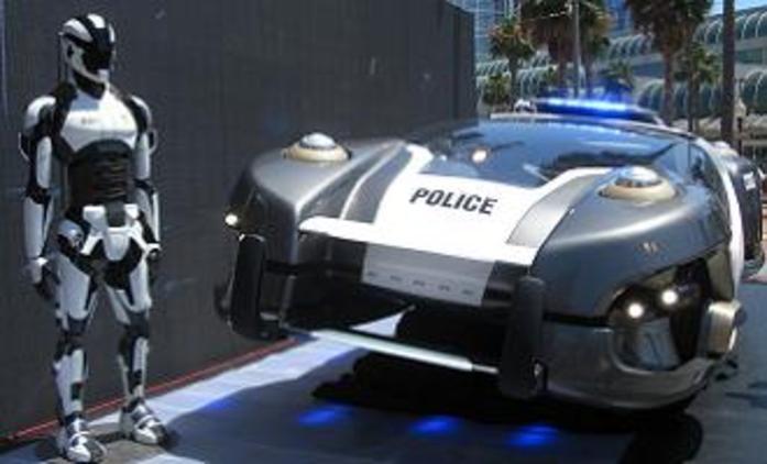 Total Recall: Futuristická vznášedla na videích z placu | Fandíme filmu