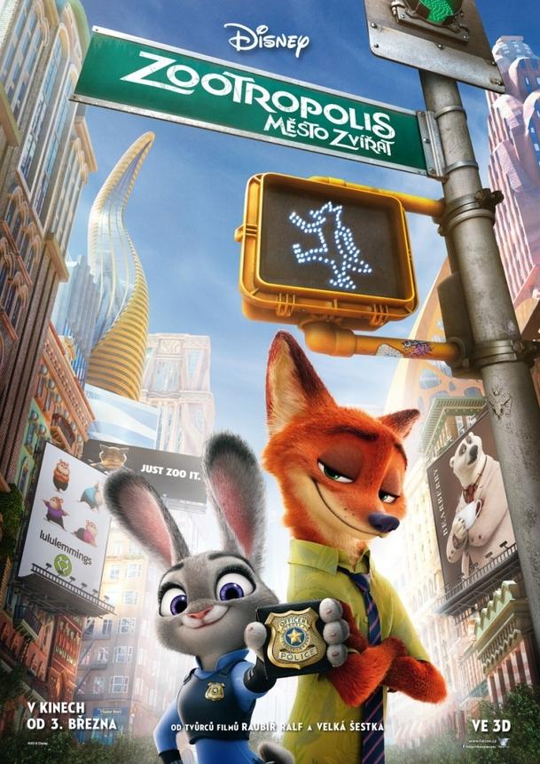 Zootropolis: Město zvířat | Fandíme filmu