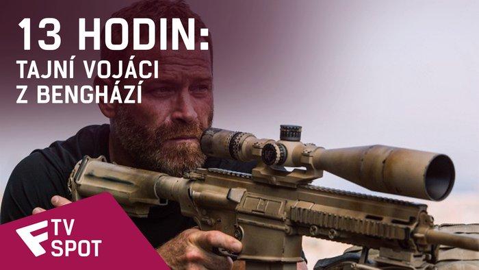 13 hodin: Tajní vojáci z Benghází - TV Spot (Military) | Fandíme filmu