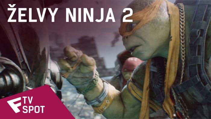 Želvy Ninja 2 - TV Spot (Fan) | Fandíme filmu