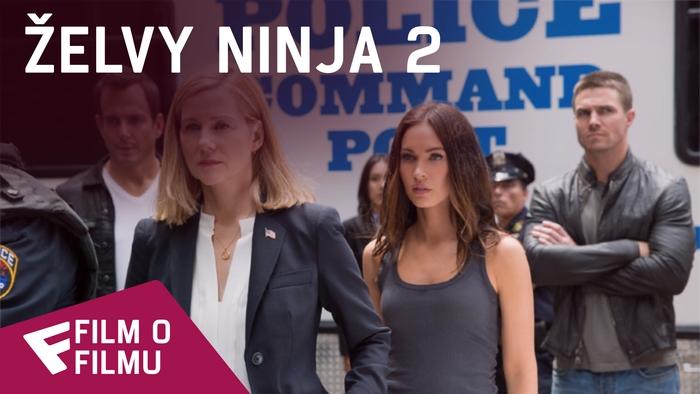 Želvy Ninja 2 - Film o filmu (Stephen Amell) | Fandíme filmu