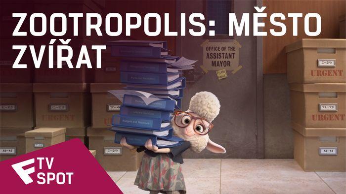 Zootropolis: Město zvířat - TV Spot (NOW in 3D!) | Fandíme filmu
