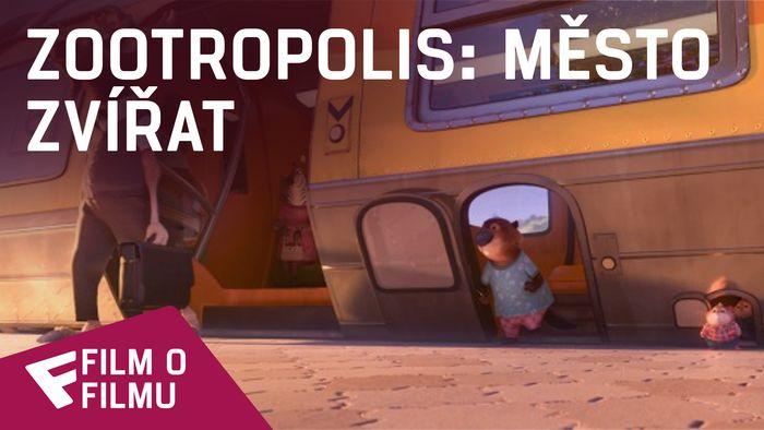 Zootropolis: Město zvířat - Film o filmu (Jason Bateman + Melon the Sloth)   Fandíme filmu