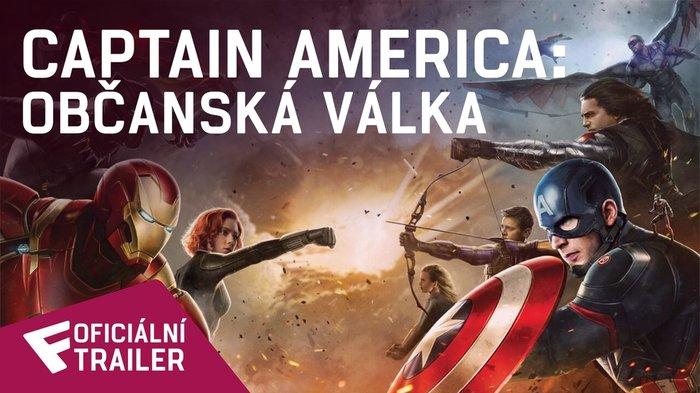 Captain America: Občanská válka - Oficiální Trailer   Fandíme filmu