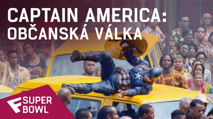 Captain America: Občanská válka - Super Bowl TV Spot   Fandíme filmu