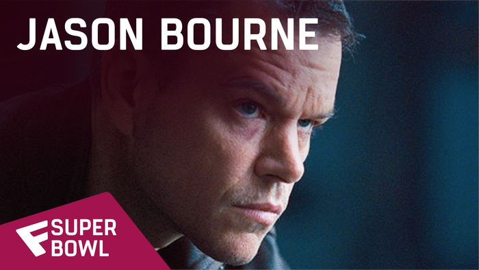 Jason Bourne - Super Bowl TV Spot | Fandíme filmu