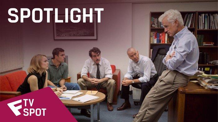 Spotlight - TV Spot (Two Stories)   Fandíme filmu
