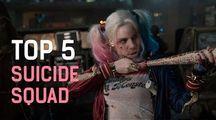 Sebevražedný oddíl - TOP 5 Momentů | Fandíme filmu