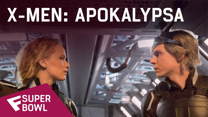 X-Men: Apokalypsa - Super Bowl TV Spot | Fandíme filmu