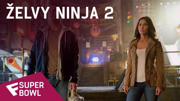 želvy Ninja 2 - Super Bowl TV Spot  | Fandíme filmu